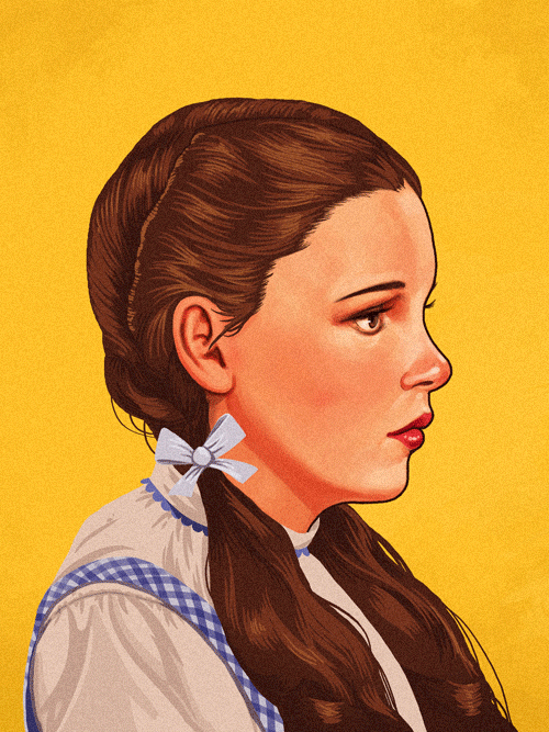 Dorothy Gale (Judy Garland) from The Wizard of Oz by Mike Mitchell