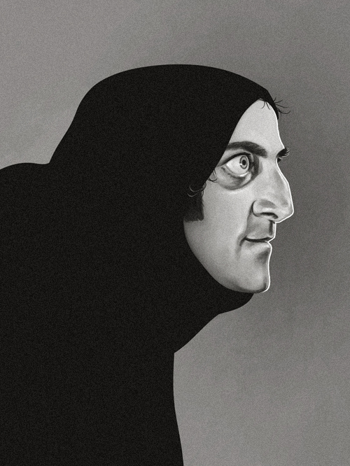 Igor (Marty Feldman) from Young Frankenstein by Mike Mitchell - Mel Brooks