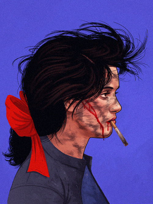 Veronica (Winona Ryder) from Heathers by Mike Mitchell