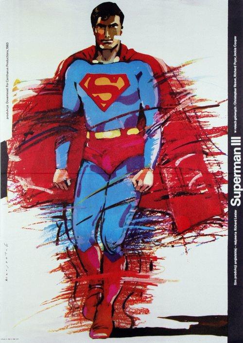 Polish Superman Poster