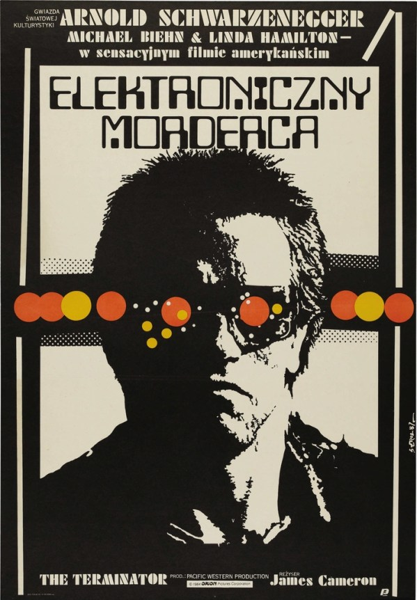 polish terminator poster - Arnold Schwarzenegger