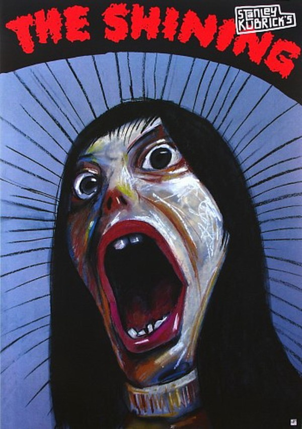 polish the shining poster - Stanley Kubrick, Stephen King, Shelley Duval