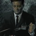 Eraserhead Art by Massimo Carnevale - Chicken Dinner Scene - Jack Nance - David Lynch