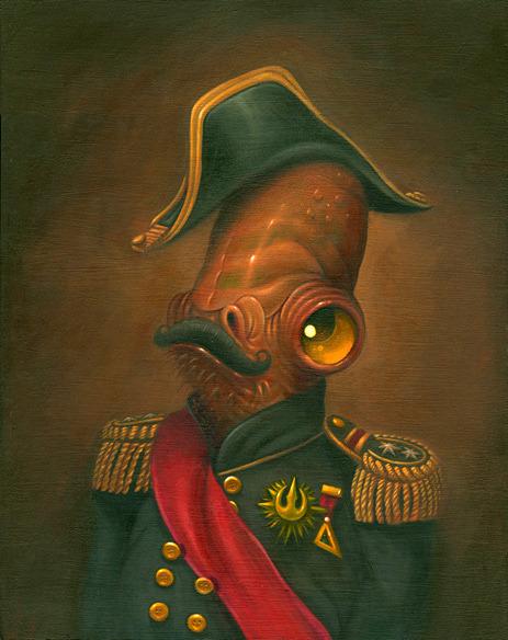 Magnitude by Steven Daily - Admiral Akbar - Star Wars art