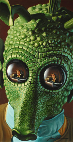 Greedo by Christian Waggoner - Star Wars Art