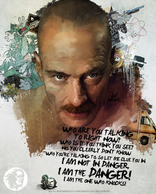 Heisenberg - Walter White from Breaking Bad by Vlad Rodriguez - I Am the One Who Knocks