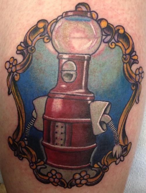 mst3k tom servo tattoo - mystery science theater 3000