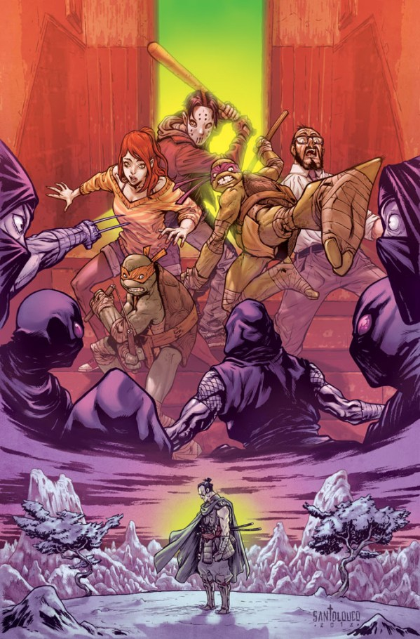 tmnt secret history of the foot clan #3 cover by Mateus Santolouco - Teenage Mutant Ninja Turtles Comics