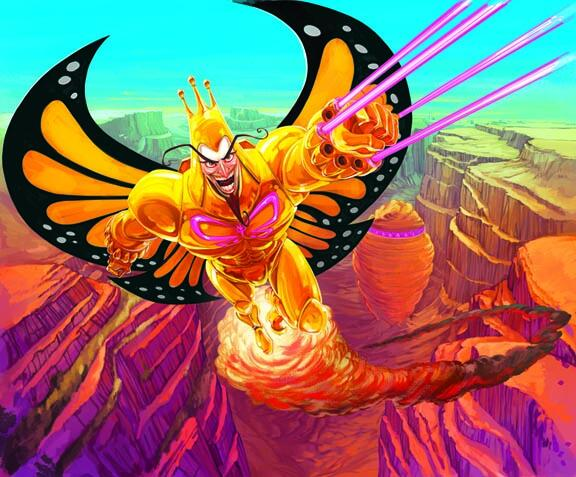 Venture Bros. The Monarch Art by Pat McEown and Liz Artinian