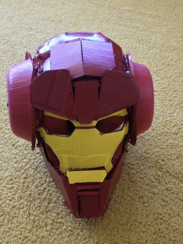 Dan Harmon Iron Man Helmet - Community - Made by Rob Schrab