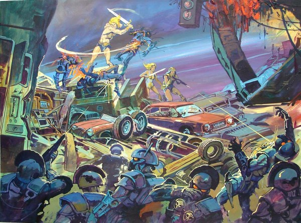 Masters of the Universe Movie Concept Art by Claudio Mazzoli - 1987 - He-Man