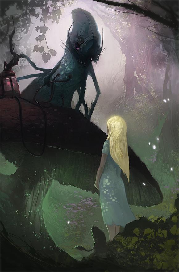 Alice in Wonderland by Dave Greco