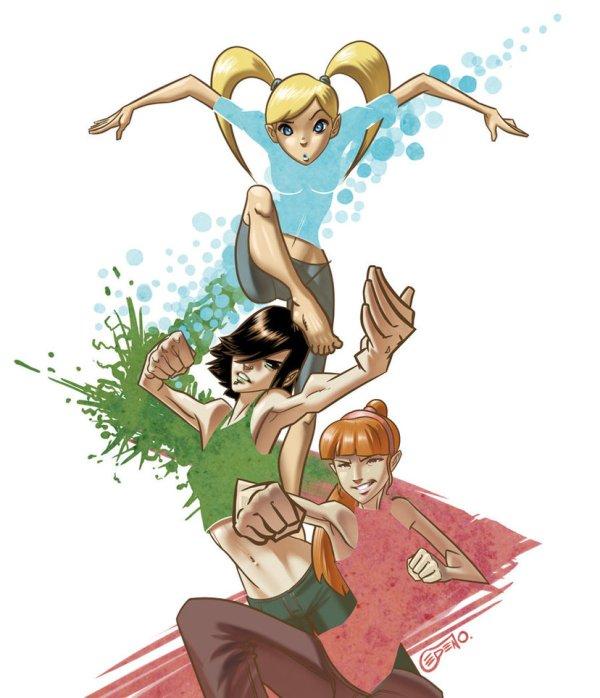Powerpuff Girls by Allan Cedeño