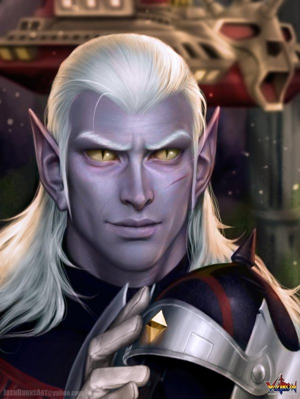 Voltron: Prince Lotor By Josh Burns