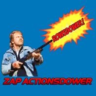 Rowsdower MST3K T-Shirt - Zap Actionsdower! - Mystery Science Theater 3000