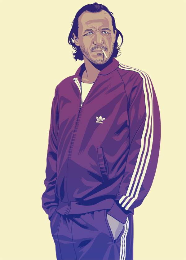 Bronn 90s Style by Mike Wrobel - Game of Thrones