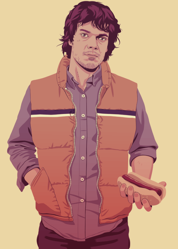 Theon Greyjoy 90s Style by Mike Wrobel - Game of Thrones