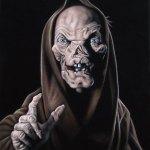 Velvet Crypt Keeper Painting by Bruce White