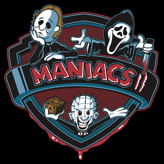 Animaniacs x Horror Movie Monsters by Ratigan - Michael Myers from Halloween, Ghostface from Scream, Pinhead from Hellraiser
