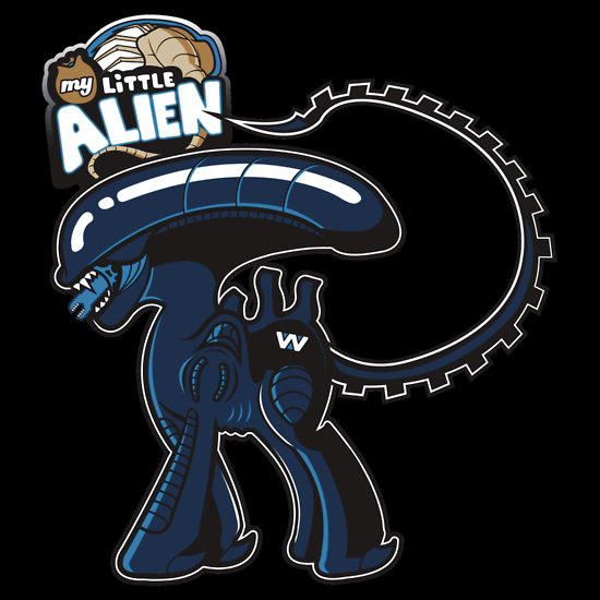 My Little Pony x Alien Xenomorph by Ratigan