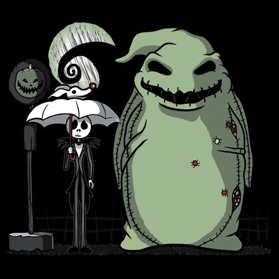 Nightmare Before Christmas x My Neighbor Totoro by Ratigan