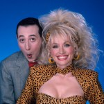 Pee-wee Herman and Dolly Parton