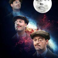 Three Richard Harrow Moon - Boardwalk Empire x Three Wolf Moon
