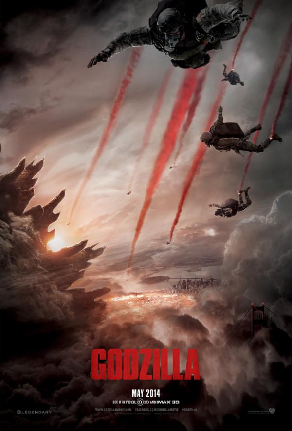 Official Godzilla (2014) Poster