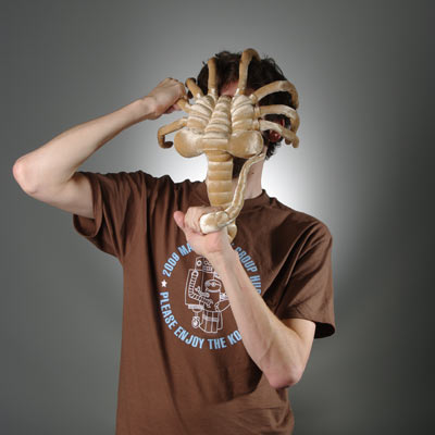 Plush Alien Facehugger