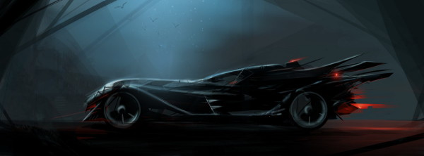 Batmobile by Vlado