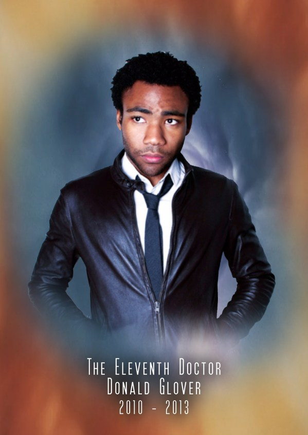American Doctor Who - Donald Glover as the 11th Doctor