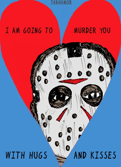 Jason Voorhees Valentine by Jarhumor - Friday the 13th