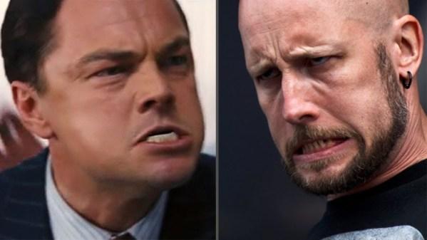 Meshuggah Face of Wall Street - Leonardo DiCaprio
