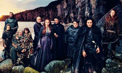 Game of Thrones Vanity Fair Photoshoot - Starks
