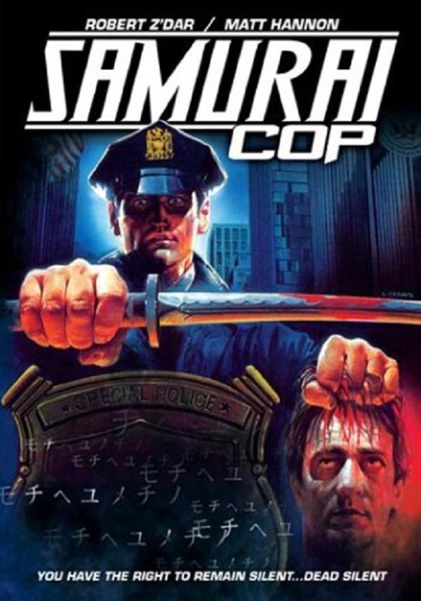 Samurai Cop (1989) Poster - starring Robert Z'Dar and Matt Hannon