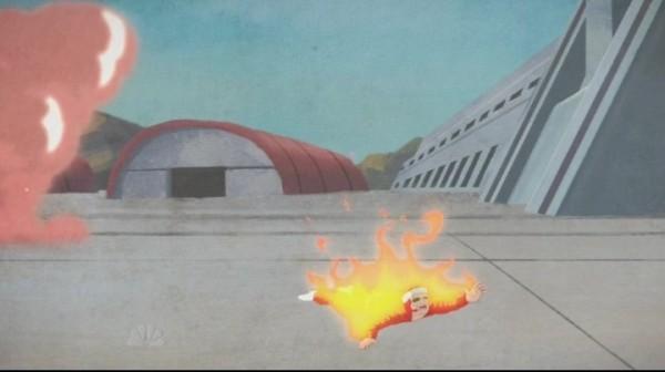 lifeline burned alive - Community: G.I. Jeff