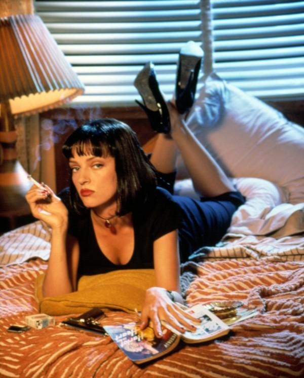 Uma Thurman as Mia Wallace - Pulp Fiction Poster - Quentin Tarantino