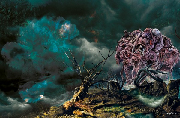 "Artwork inspired by H.P. Lovecraft's ""The Dunwich Horror"" by Matteo Bocci"