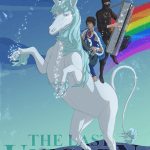 The Last Unicorn by Ninja Sex Party. Art by Andre Costa.