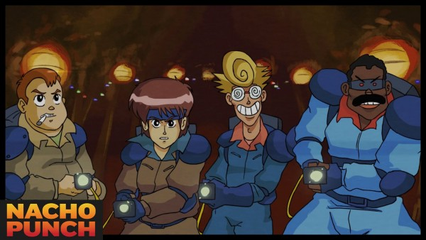 1980s Anime Parody of Ghostbusters
