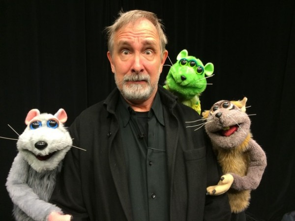 Mystery Science Theater 3000's Trace Beaulieu in Puppet Web Series Vermin