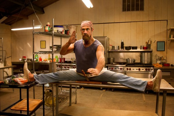 Christopher Meloni as camp chef Gene - Wet Hot American Summer First Day of Camp