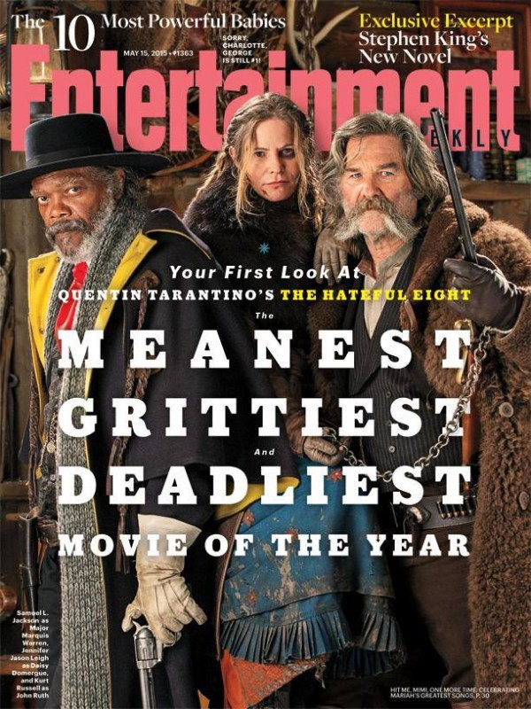 Quentin Tarantino's The Hateful Eight - Entertainment Weekly Cover