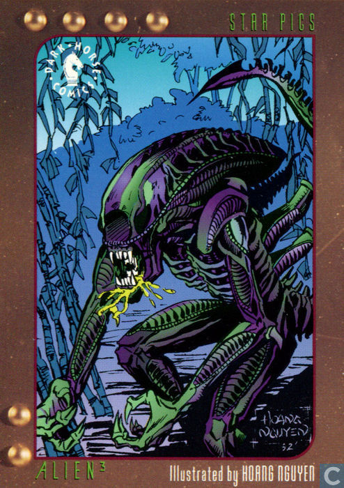 Alien 3 Card Illustrated by Hoang Nguyen - Dark Horse Comics