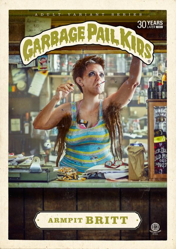 Armpit Britt - Garbage Pail Kids Adult Variant Series