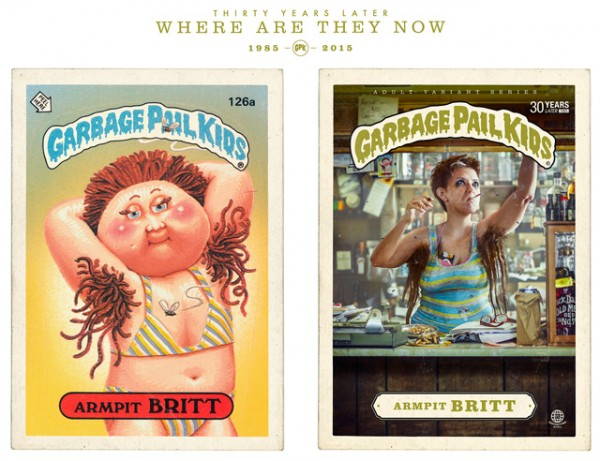 Armpit Britt - Where Are They Now - Garbage Pal Kids