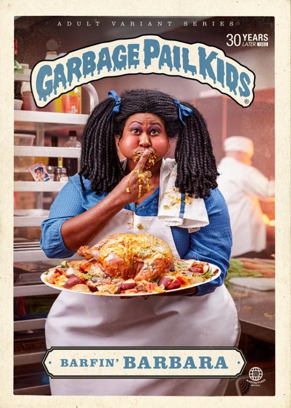 Barfin Barbara - Garbage Pail Kids Adult Variant Series