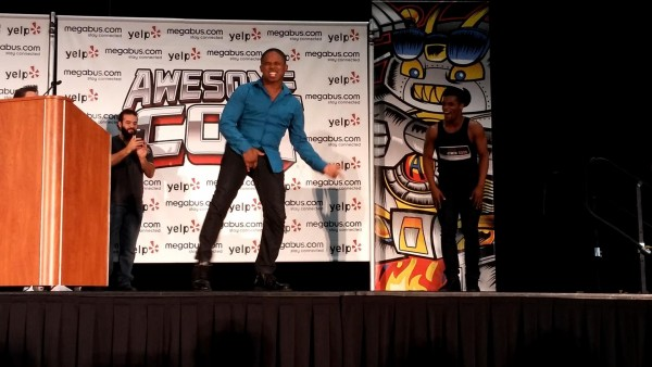 Walter Jones the Black Ranger Dance-off with Michael Jackson Protester from Baltimore
