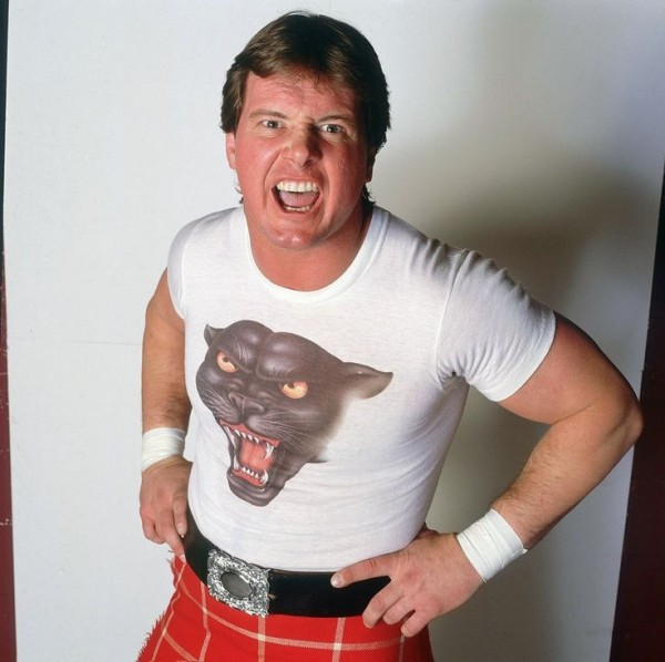 Rowdy Roddy Piper panther shirt
