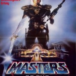 Masters of the Universe (1987) German Movie Poster. Starring Dolph Lundgren